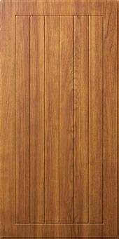 Premium Cabinets Cottage 100 shown in Cherry Rum
