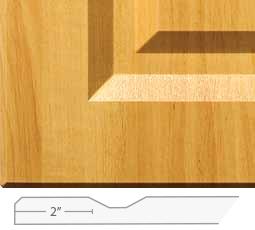 Premium Cabinets Regal 100 Square Inside Corners